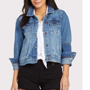 New Free People Rumors Denim Jacket